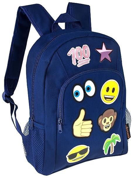 Amazon.com  Emoji Boys Emoji Backpack  Clothing da4545ef5dde0