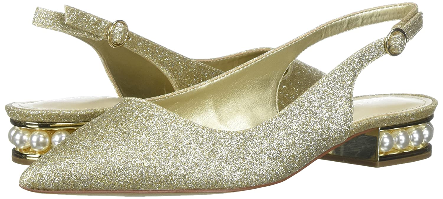 Marc Fisher Women's Rise Ballet Flat B074SZF2VJ 11 B(M) US|Gold