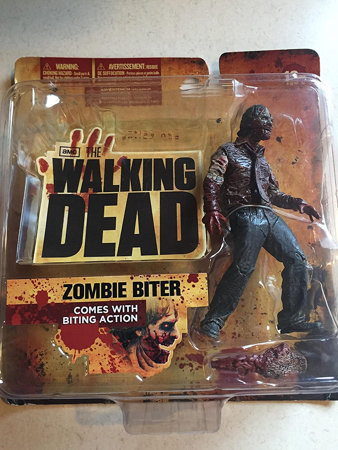 McFarlane Toys The Walking Dead TV Series 1 - Zombie Biter Action Figure by McFarlane Toys