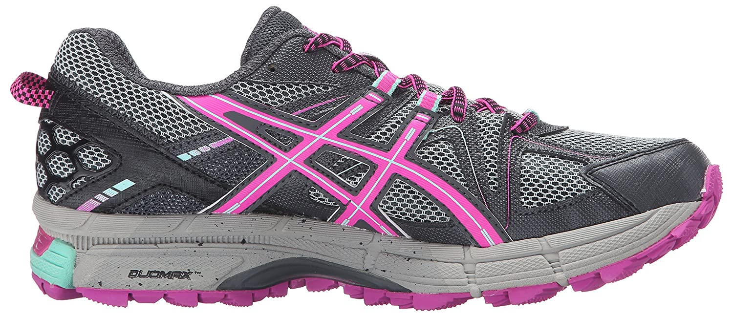 ASICS Women's Gel-Kahana 8 Trail US|Dark Runner B017WO0LPU 9 B(M) US|Dark Trail Steel/Pink Glow/Mint 83a129
