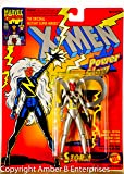 1995 - Toy Biz / Marvel Comics - X-men Classics From the Animated Series - Storm 5 Inch Action Figure - Power Glow Action - Official Marvel Universe Trading Card - Out of Production - New - Limited Edition - Collectible