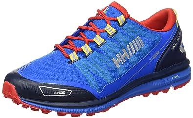 Helly Hansen Rohkun, Zapatillas de Deporte Exterior para Hombre, Azul (589 Racer Blue/Evening Blue), 40 EU