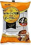 S&B ホテル・シェフ仕様 特製ビーフカレー 甘口 4食P