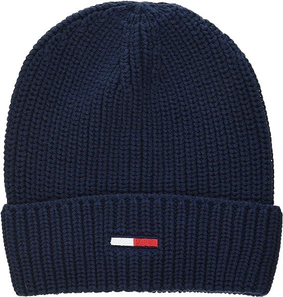 Tommy Hilfiger Mens TJM Basic Flag Rib Beanie Hat
