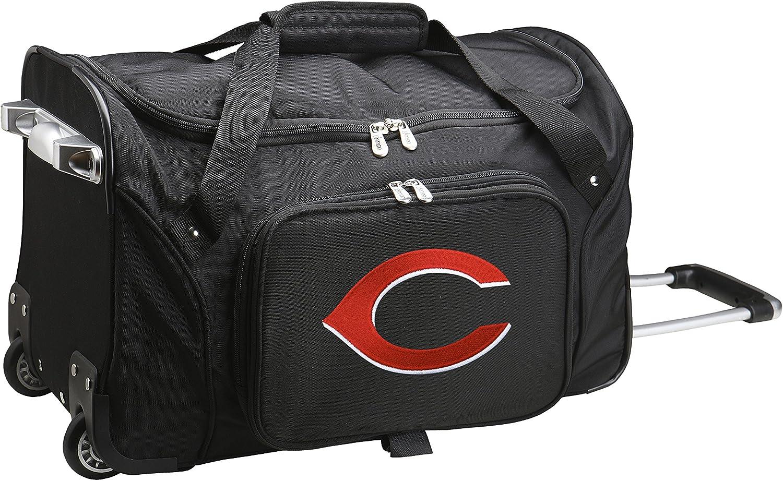 MLB Cincinnati Reds Wheeled Duffle Bag