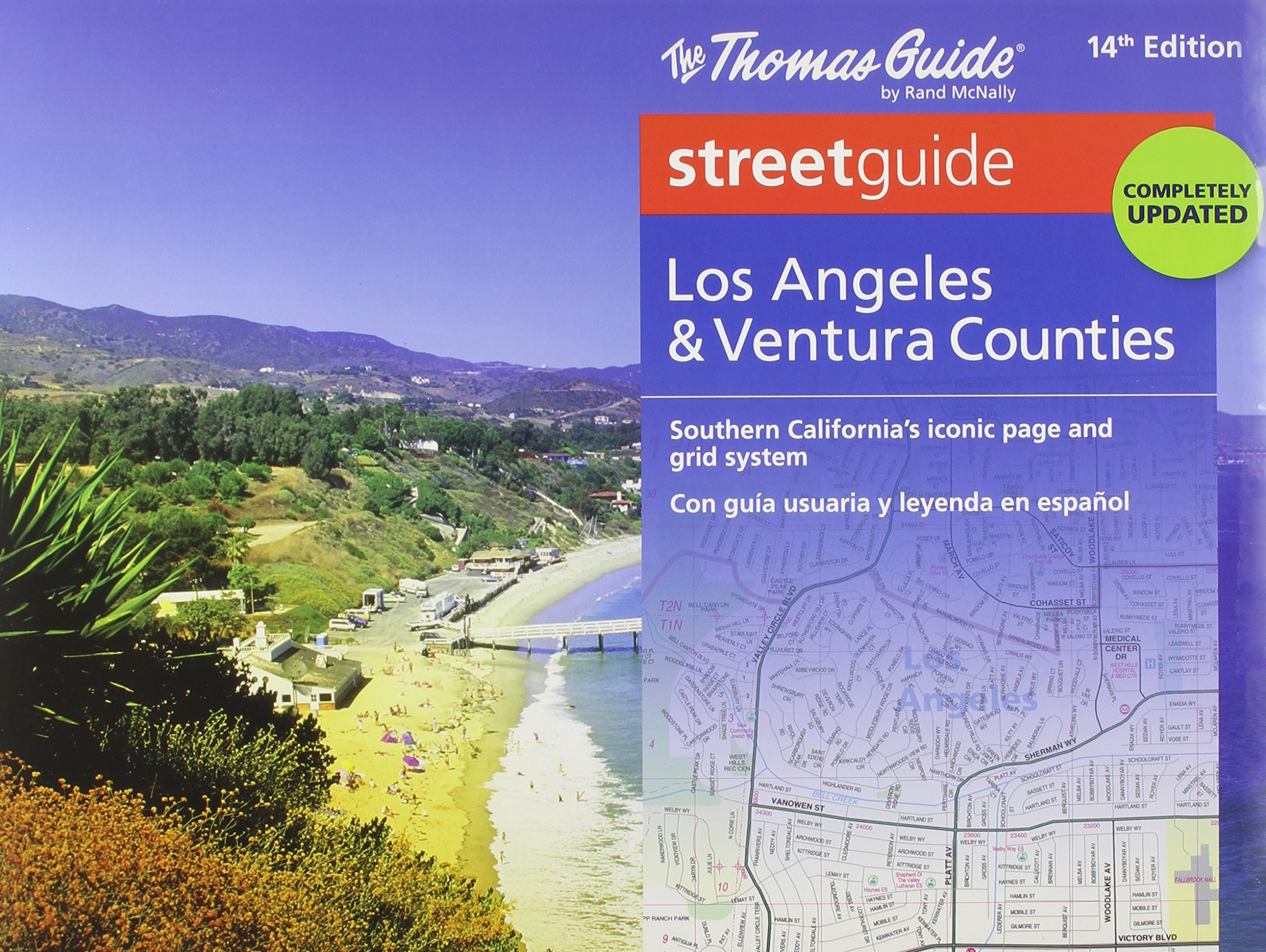 Download The Thomas Guide Streetguide, Los Angeles & Ventura Counties pdf epub