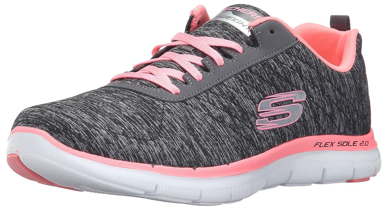 TALLA 35.5 EU. Skechers Flex Appeal 2.0, Zapatillas de Deporte para Mujer