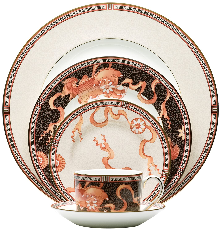 Amazon.com | Wedgwood Dynasty 5 Piece Place Setting Dinnerware Sets Dinnerware Sets  sc 1 st  Amazon.com & Amazon.com | Wedgwood Dynasty 5 Piece Place Setting: Dinnerware Sets ...