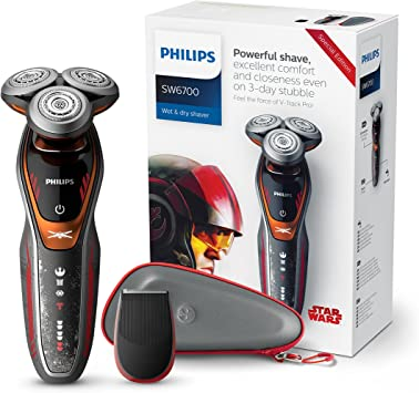 Philips Star Wars Episodio VIII SW6700/14 - Afeitadora eléctrica serie 6000, edición limitada Rebelde: Amazon.es ...