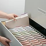 Smead File Folder, 1/3-Cut Tab, Letter