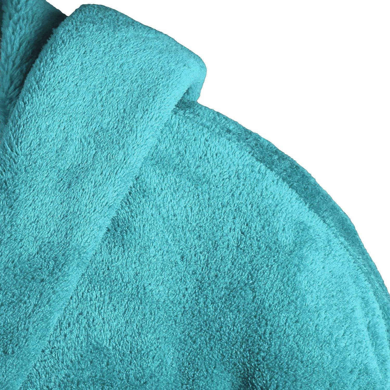 Diff/érents Coloris Polaire Flanelle Gr/äfenstayn/® Peignoir de Bain /à Capuche en Polaire Douce Hommes /& Femmes Tailles S-XXXL