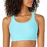 Amazon Essentials Women's Medium Support Racerback Sports Bra with Mesh Back