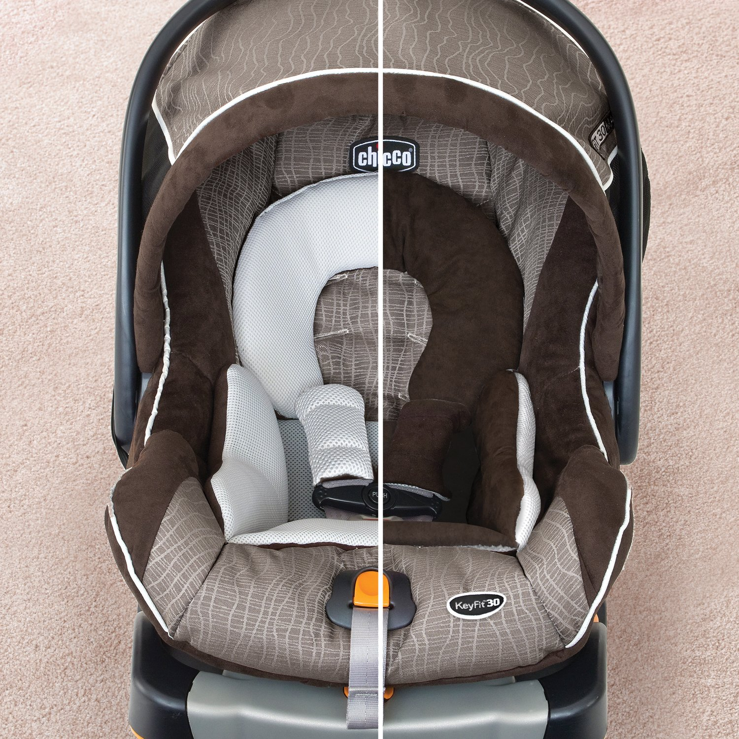 Amazon.com : Chicco Keyfit 30 Magic Infant Car Seat, Black/Grey : Baby