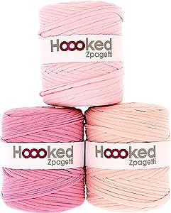Hoooked Zpagetti Yarn-Cherry Blossom