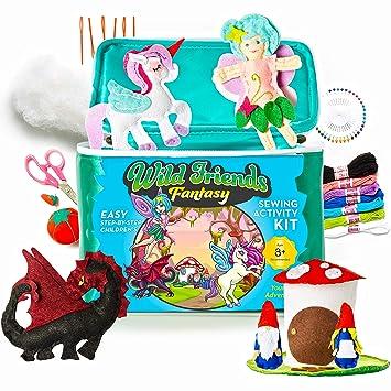 Amazon.com: Bryte Products Unicorn - Kit de costura: Toys ...