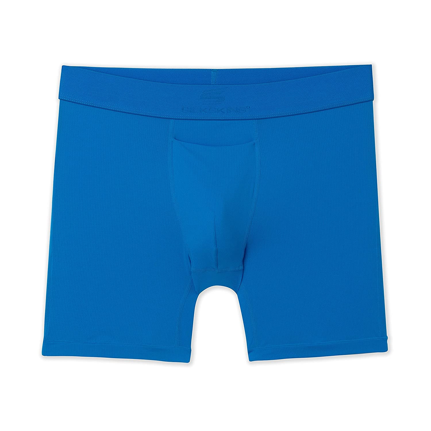 Terramar Mens 6 SilkSkins AIRCOOL Boxer Briefs with Fly Available in 1-Pack or 2-Pack