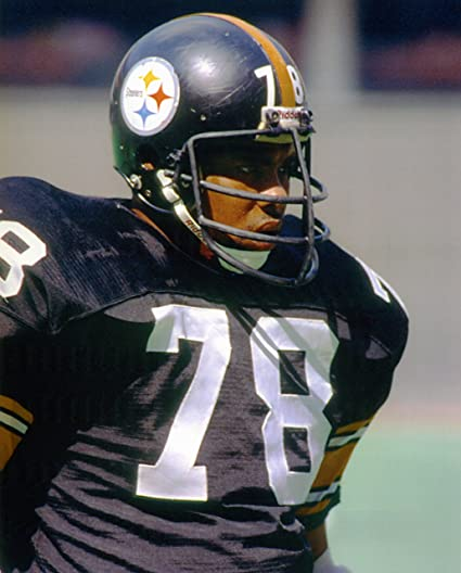 DWIGHT WHITE PITTSBURGH STEELERS 8X10 SPORTS ACTION PHOTO J
