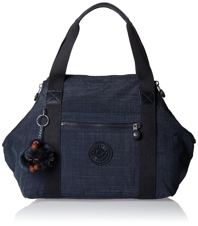 Kipling Art S, Bolsa de Asa Superior para Mujer, 44x27x18 cm Bolsos de mano Mujer Blue (Dazz True Blue) 44x27x18 cm (W x H x L) K12645