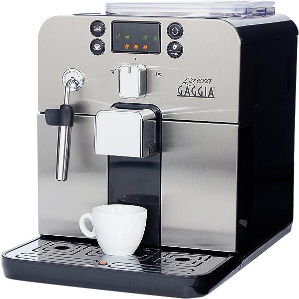 Gaggia Brera Super Automatic Espresso Machine in Black
