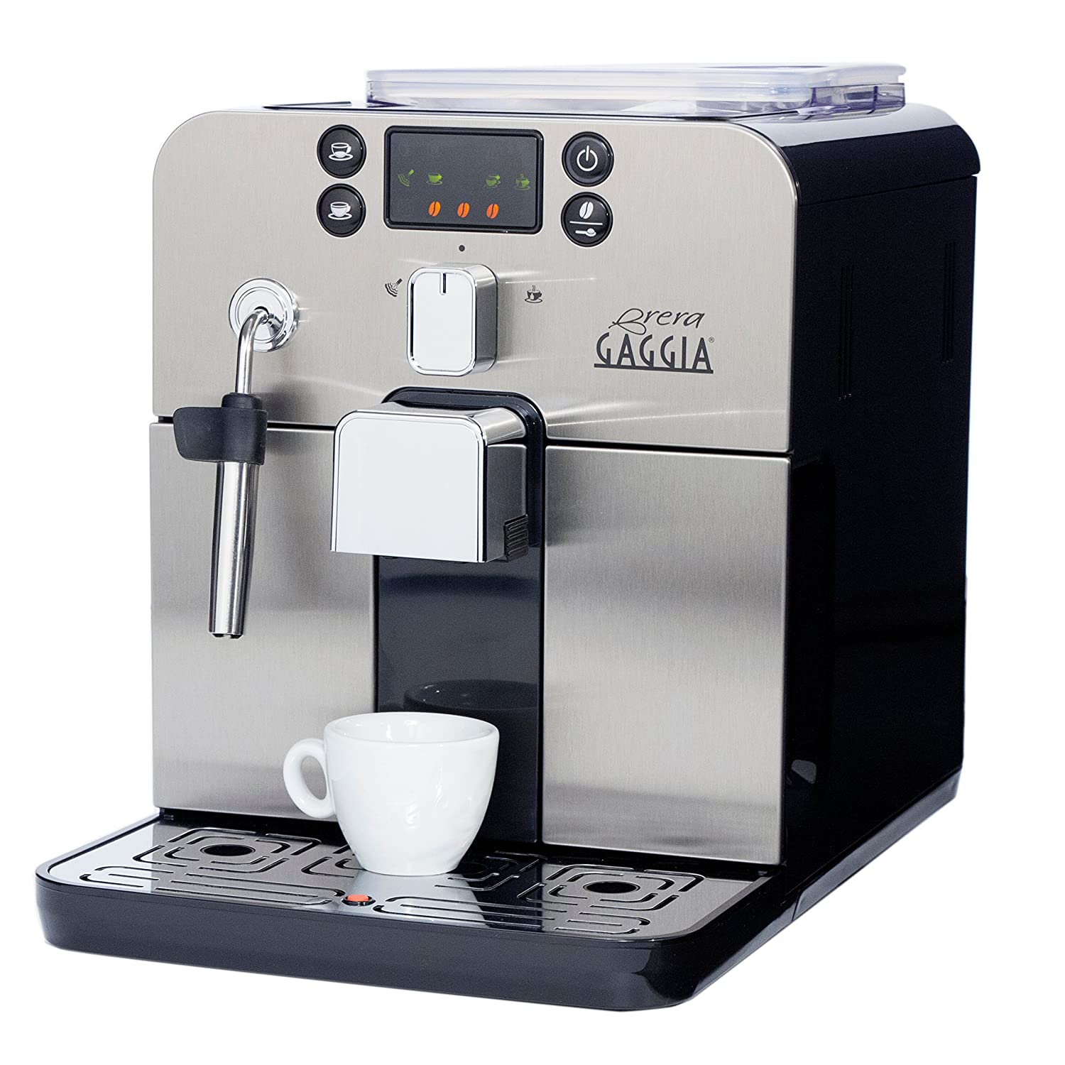 amazon com gaggia brera super automatic espresso machine in black rh amazon com Baby Gaggia Espresso Machine Gaggia Espresso Machines