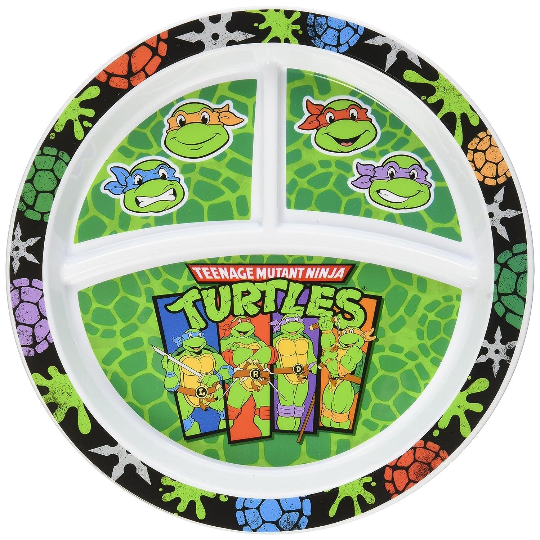 Gerber Graduates Nickelodeon Teenage Mutant Ninja Turtles Divided Plate
