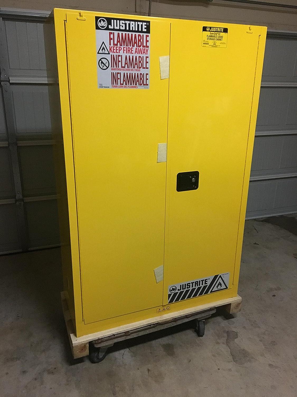 Justrite MFG Co Inc B6164520 894520 45-Gal 2Door Self Close 1 Unit In Pack: Amazon.com: Industrial & Scientific