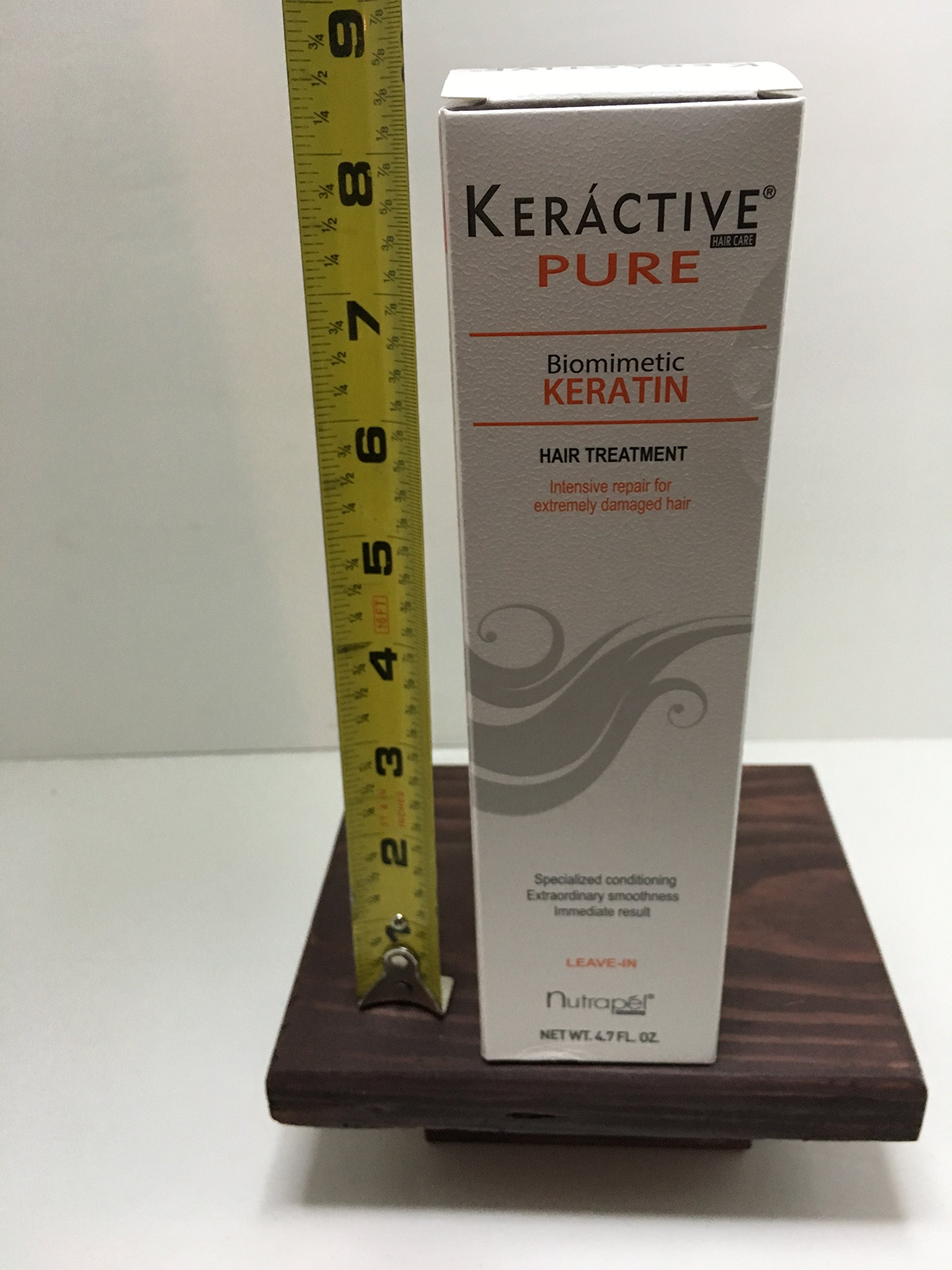 KERACTIVE PURE KERATIN HAIR TREATMENT KERATINA PURA TRATAMIENTO CAPILAR
