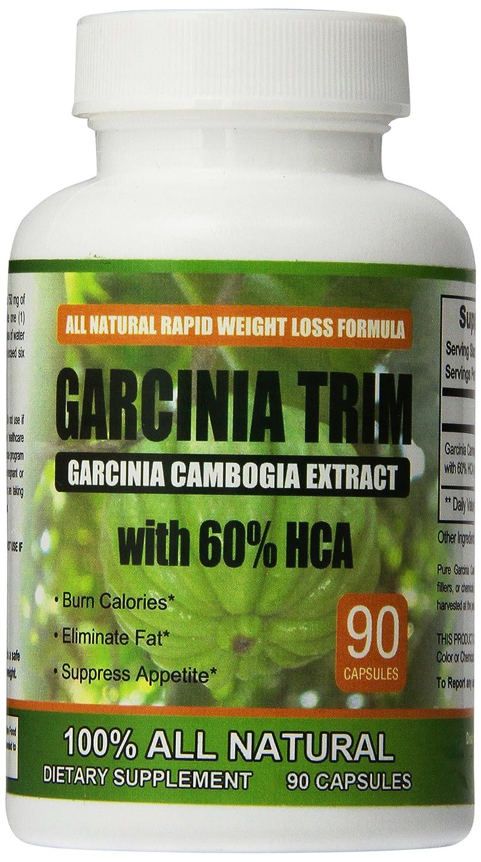1 Garcinia Cambogia Weight Loss Plus Appetite Suppression Eliminate Fat Storage Burn