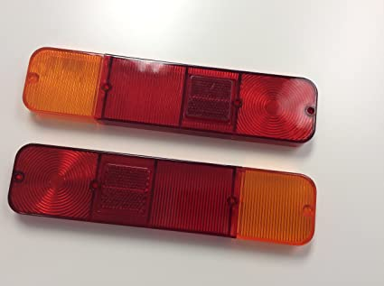Tail Light Covers Replacement Moskvich 2140(Set)/Cover Focos Traseros  Moskvich(Set