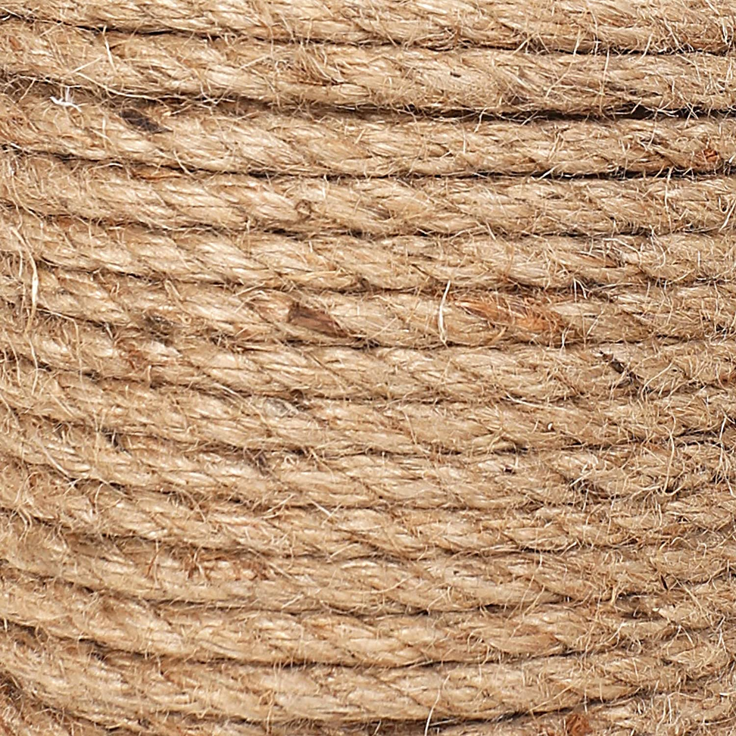 98 Feet Natural Twine Strings 5 mm Diameter Handmade Suitable for Crafts Gift Christmas Durable Packing Cord for Gardening Application