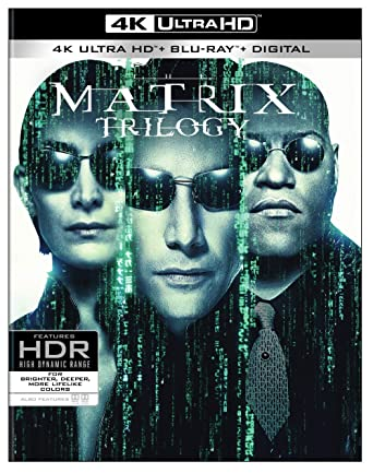 Amazon com: Matrix Trilogy, The (4K Ultra HD) (4K Ultra HD