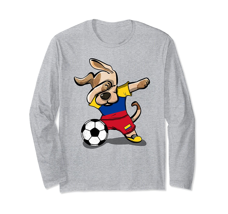 3d2dda326ba Dog Dabbing Soccer Colombia Jersey Shirt Colombian Football-prm ...
