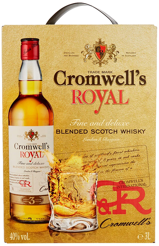 Cromwells Royal Scotch Whisky 1 X 3 L Amazonde Bier Wein