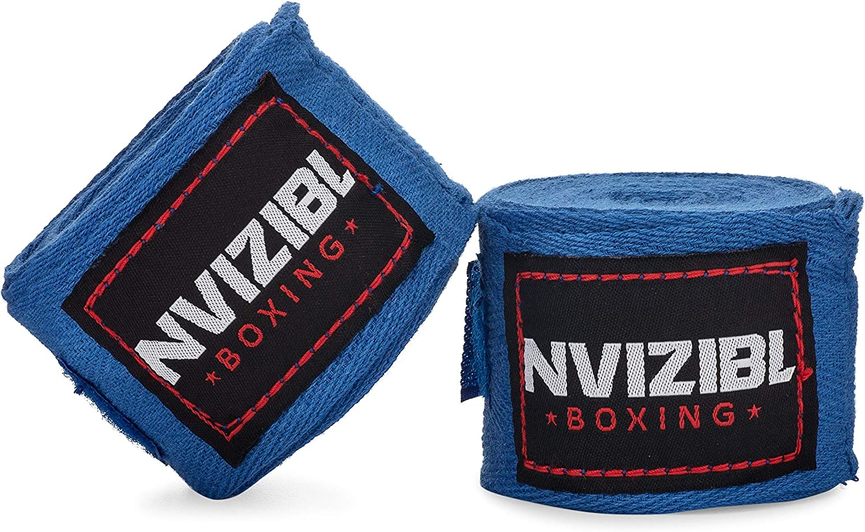 MMA Hand Wraps Kickboxing Hand Wraps Karate Hand Wraps Muay Tai Hand Wraps Nvizibl Boxing Hand Wraps