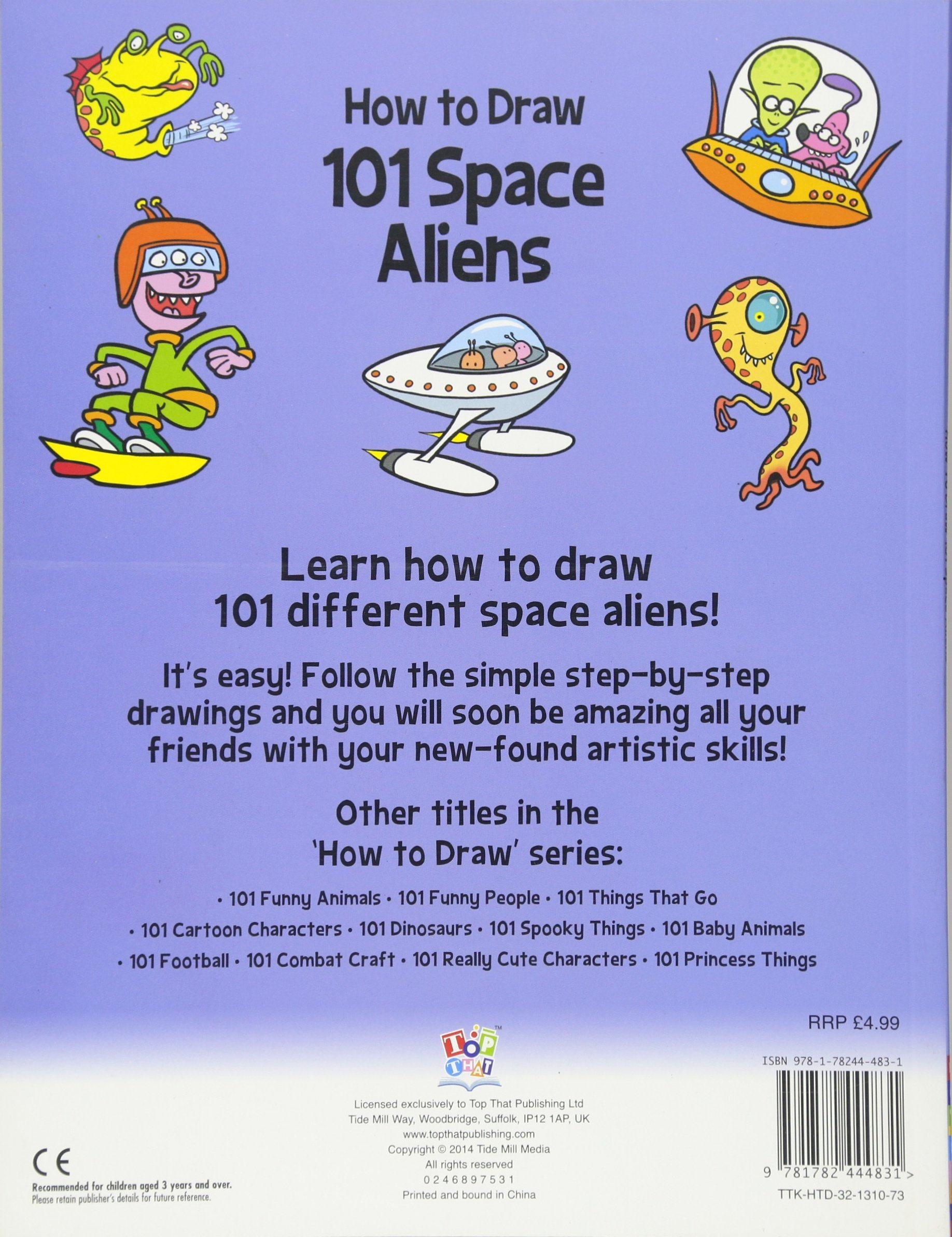 How To Draw 101 Space Aliens Nat Lambert Graham Ross