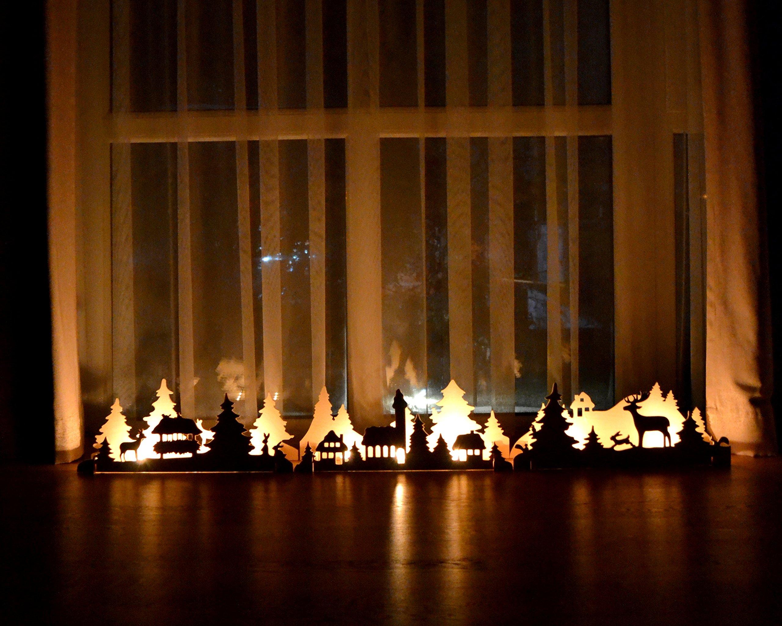Christmas Lights, Christmas mantle decor, Mantle Candle Holders, Rustic Mantle Decor, Wood Candlesticks, wooden candlesticks, wooden candle holders rustic