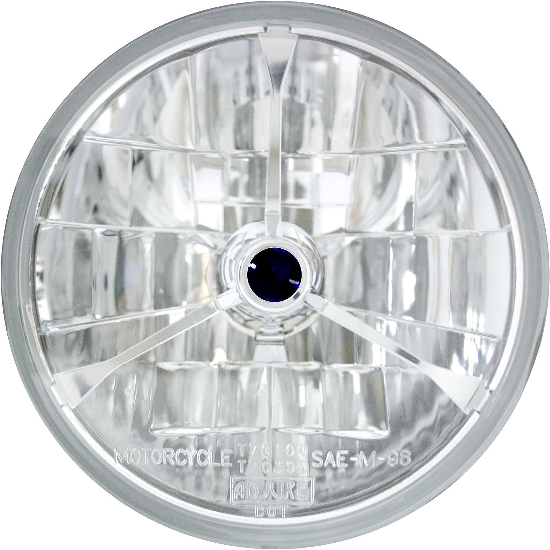 Adjure Diamond Cut Trillient Spotlights Harley Davidson Blue Dot Spotlamps