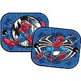 Spider-Man SMSAA011 Protección solar 'Spiderman', 'Ultimate' 2 unidades, estampada, 36x44 cm, azul