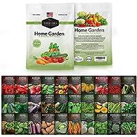 Survival Garden Seeds Home Garden Collection II Vegetable Seed Vault - Non-GMO Heirloom Survival Garden Seeds for…