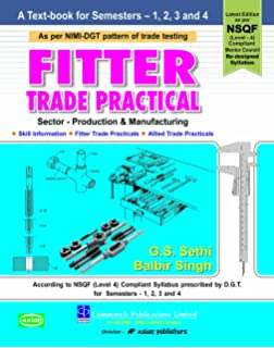 Buy Fitter Practical Book Online at Low Prices in India | Fitter