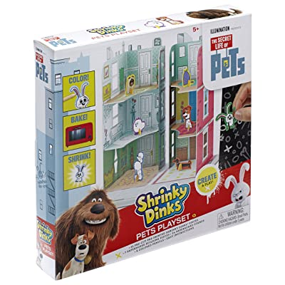 The Secret Life of Pets Shrinky Dinks Playset: Toys & Games