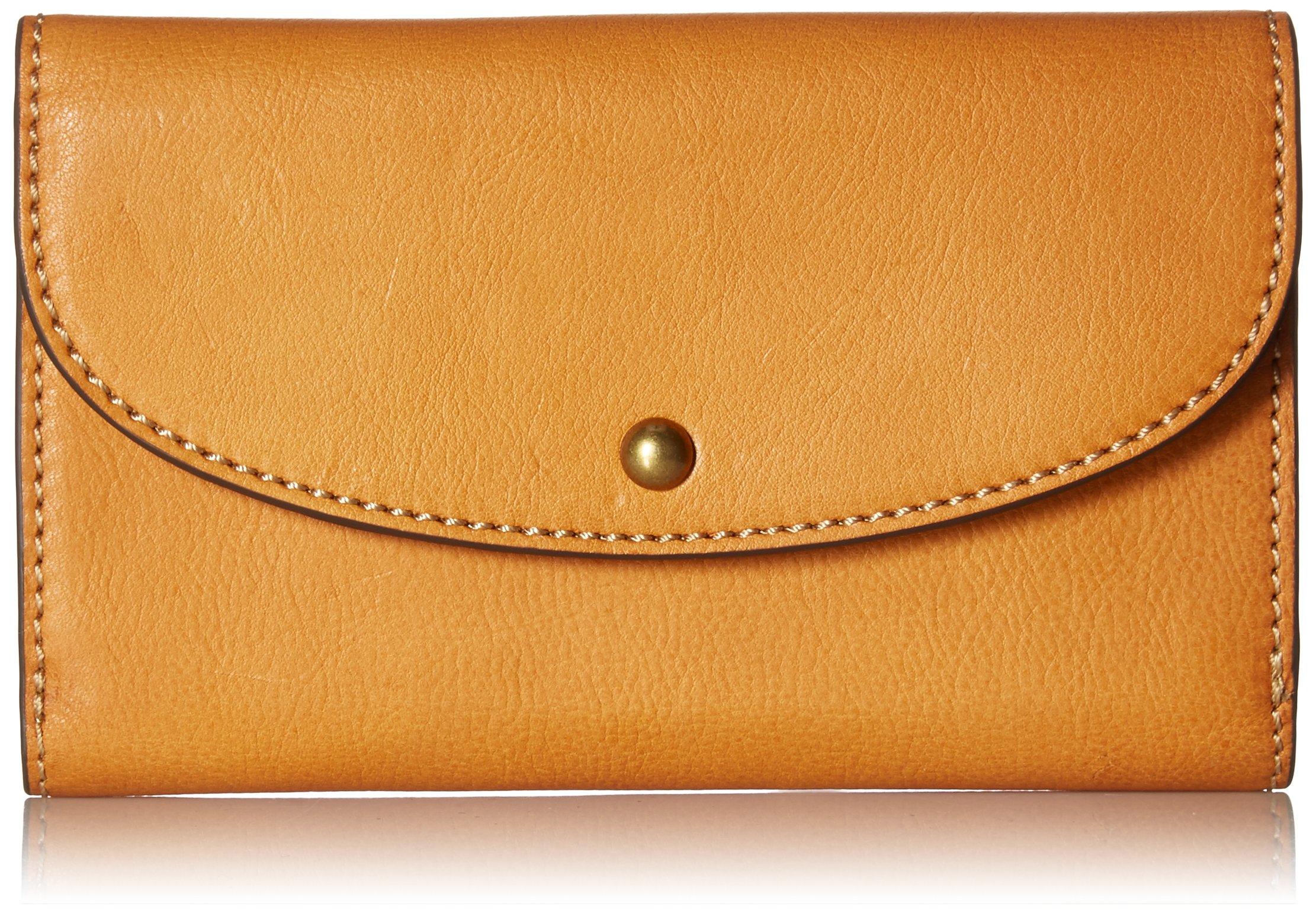 Adeline Clutch Wallet Wallet, TAN, One Size