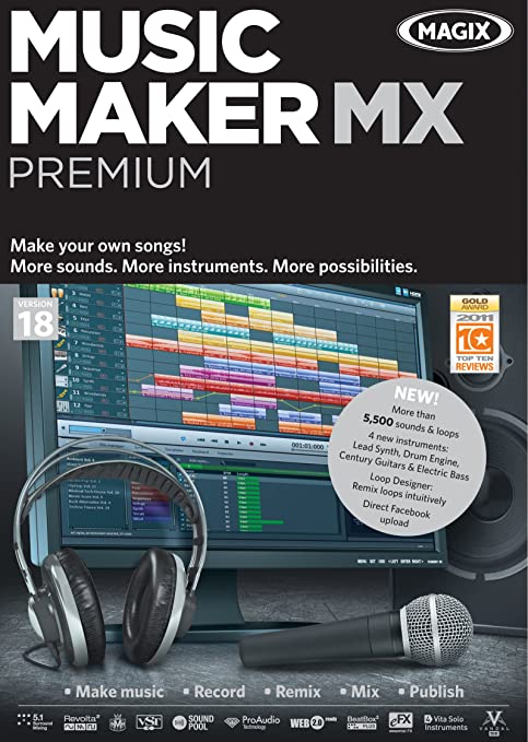magix music maker mx free download full version