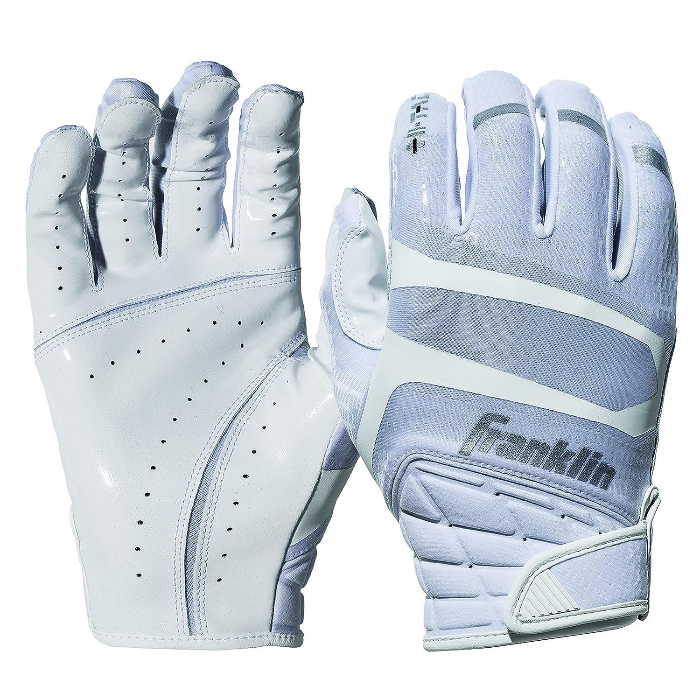 Franklinスポーツhi-tackプレミアムFootball Receiver Gloves B07DP15D8P ホワイト Adult XX-Large Adult XX-Large ホワイト