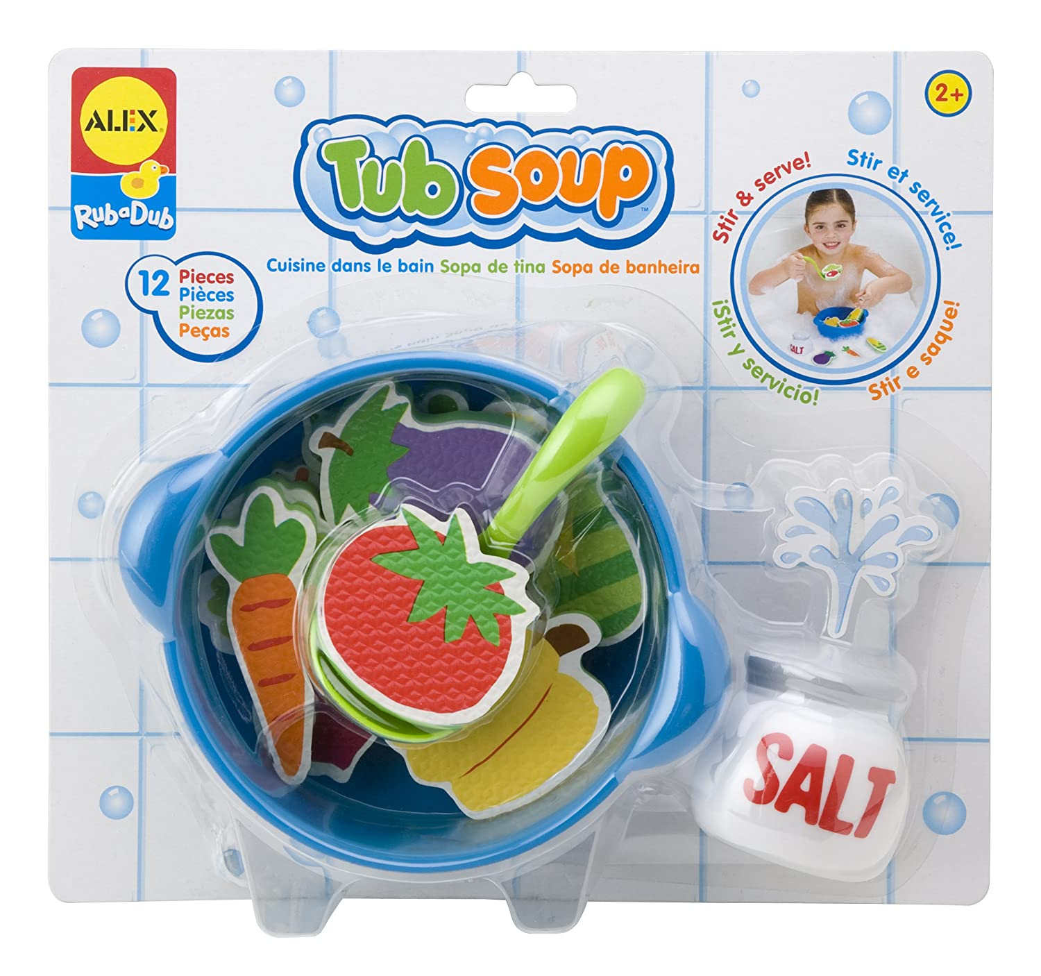 Alex Toys Rub a Dub Tub Soup 801W