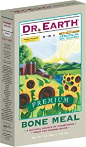 Dr. Earth 718 Bone Meal 3-15-0 Boxed, 2-1/2-Pound