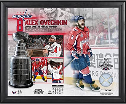 f22f8a7ed Alex Ovechkin Washington Capitals Framed 16 quot  x 20 quot  2018 Stanley  Cup Champions MVP Collage
