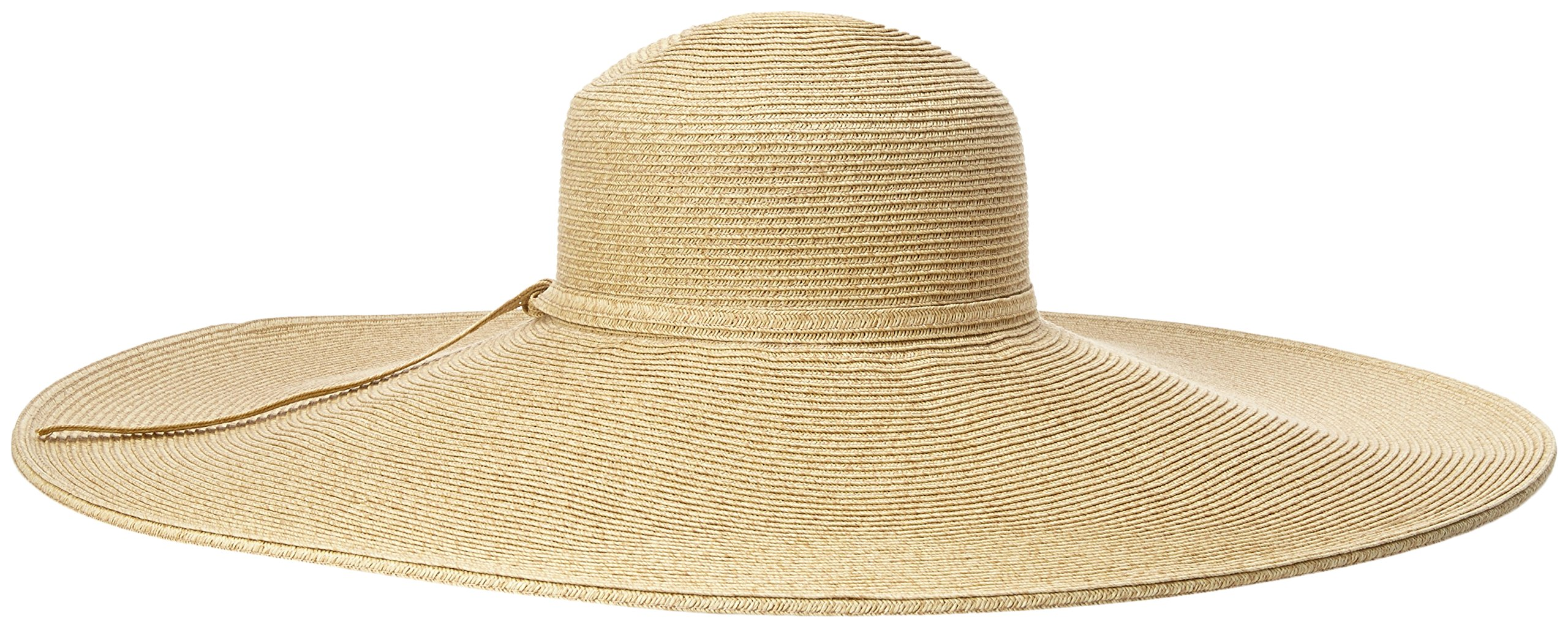 San Diego Hat Company Women's Ultrabraid X Large Brim Hat,Toast,One Size by San Diego Hat Company