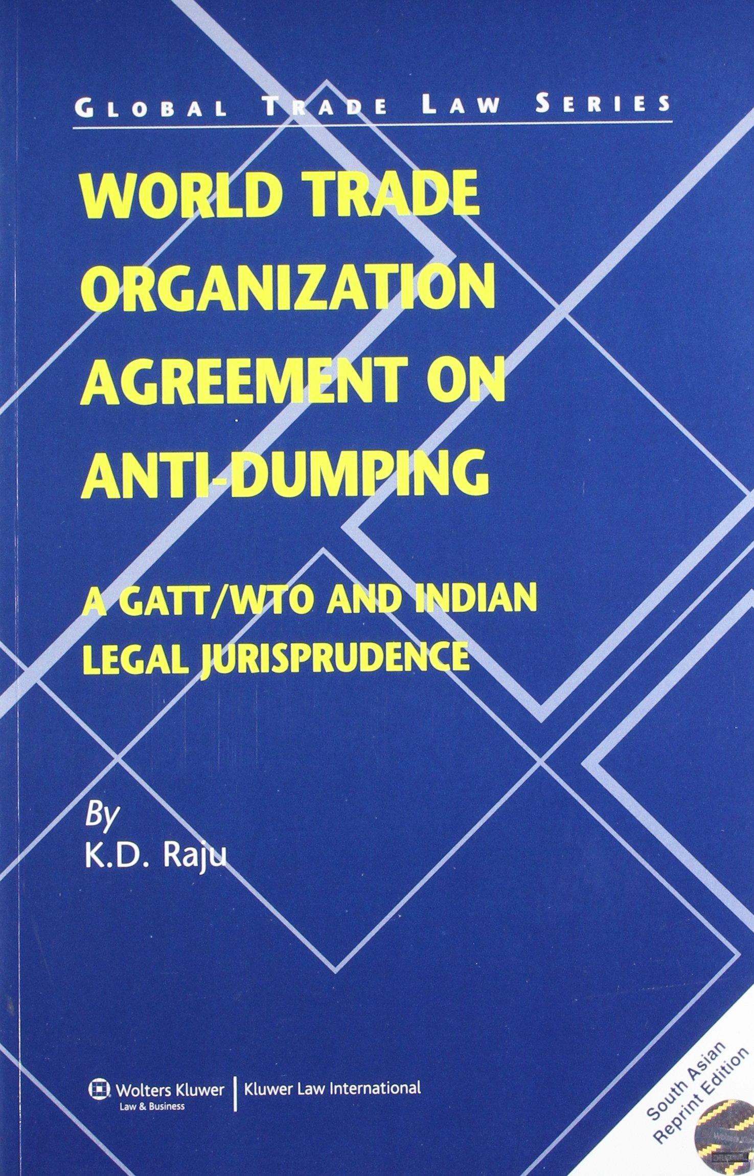 Amazon Buy World Trade Organization Agreement On Anti Dumping A