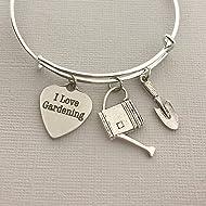 I love Gardening Bracelet Gift for Women Gardener